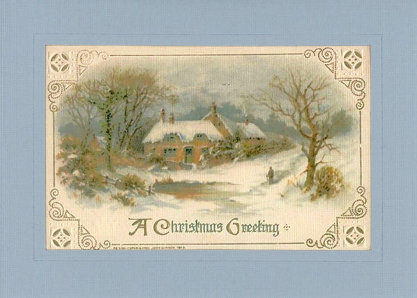 A Christmas Greeting - PLYMOUTH CARD COMPANY
