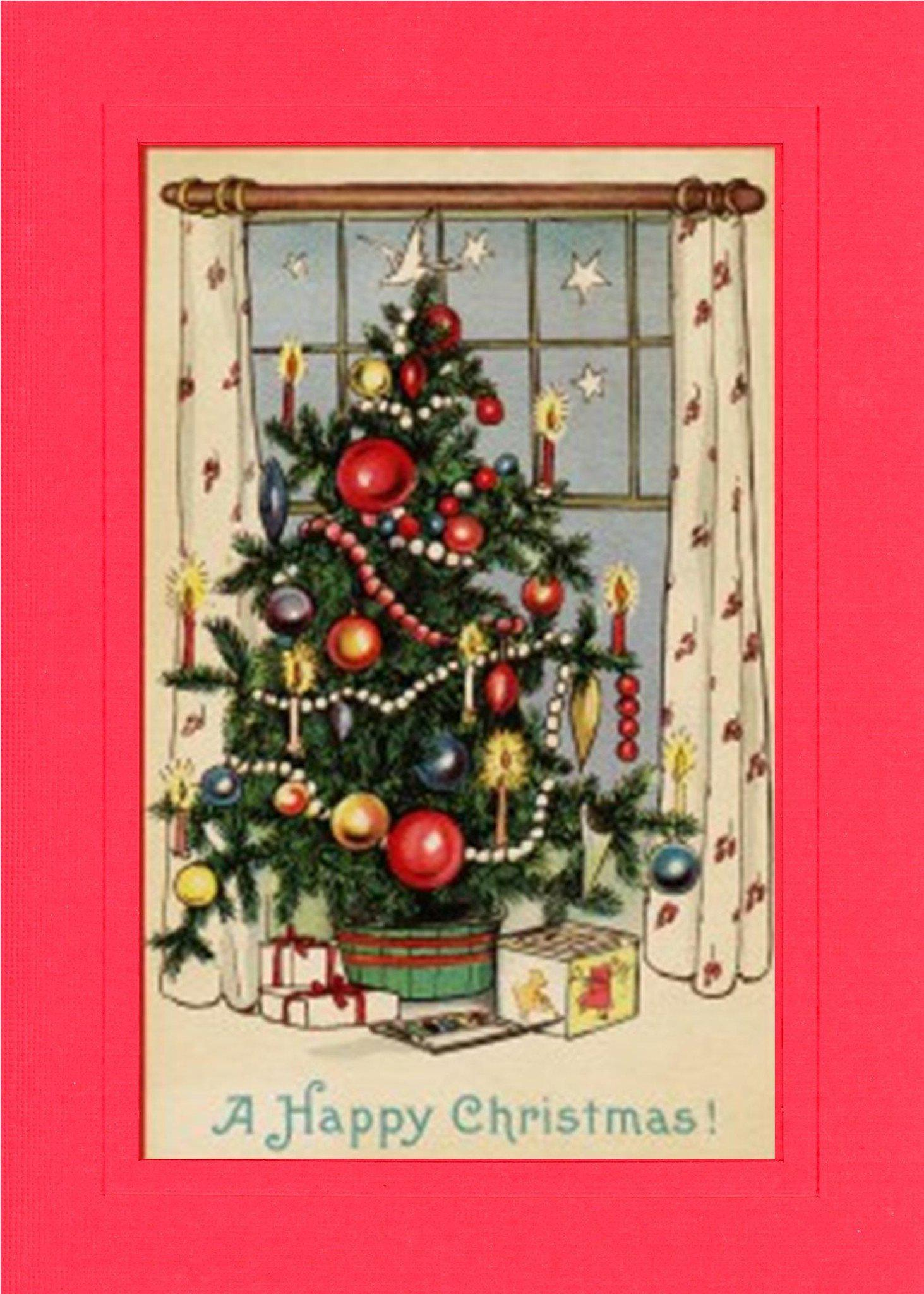 A Happy Christmas-Greetings from the Past-Plymouth Cards