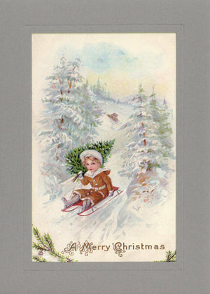 A Merry Christmas - PLYMOUTH CARD COMPANY