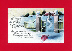 "Patriotic All Holidays ""Greetings from the Past"" Sampler - PLYMOUTH CARD COMPANY  - 5"