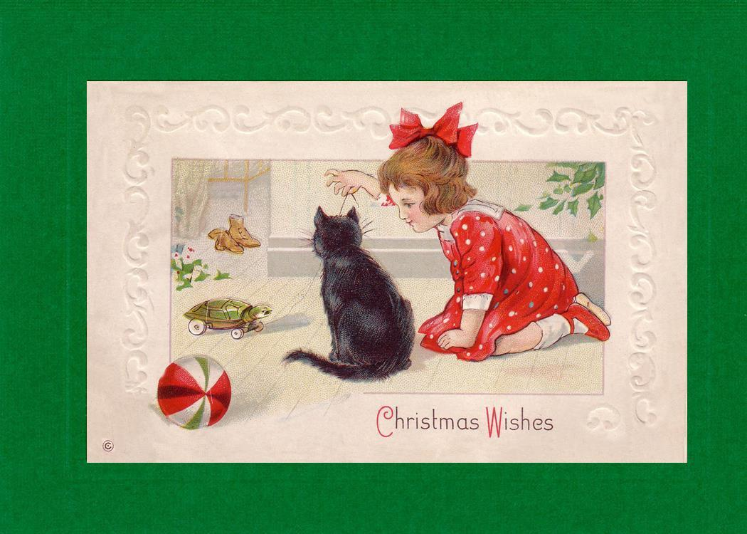 Christmas Wishes-Greetings from the Past-Plymouth Cards