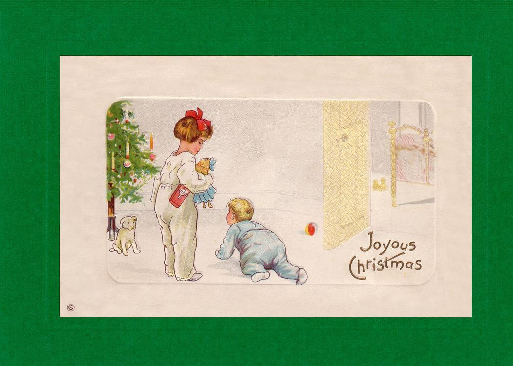 Joyous Christmas-Greetings from the Past-Plymouth Cards