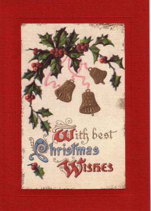 With Best Christmas Wishes - PLYMOUTH CARD COMPANY