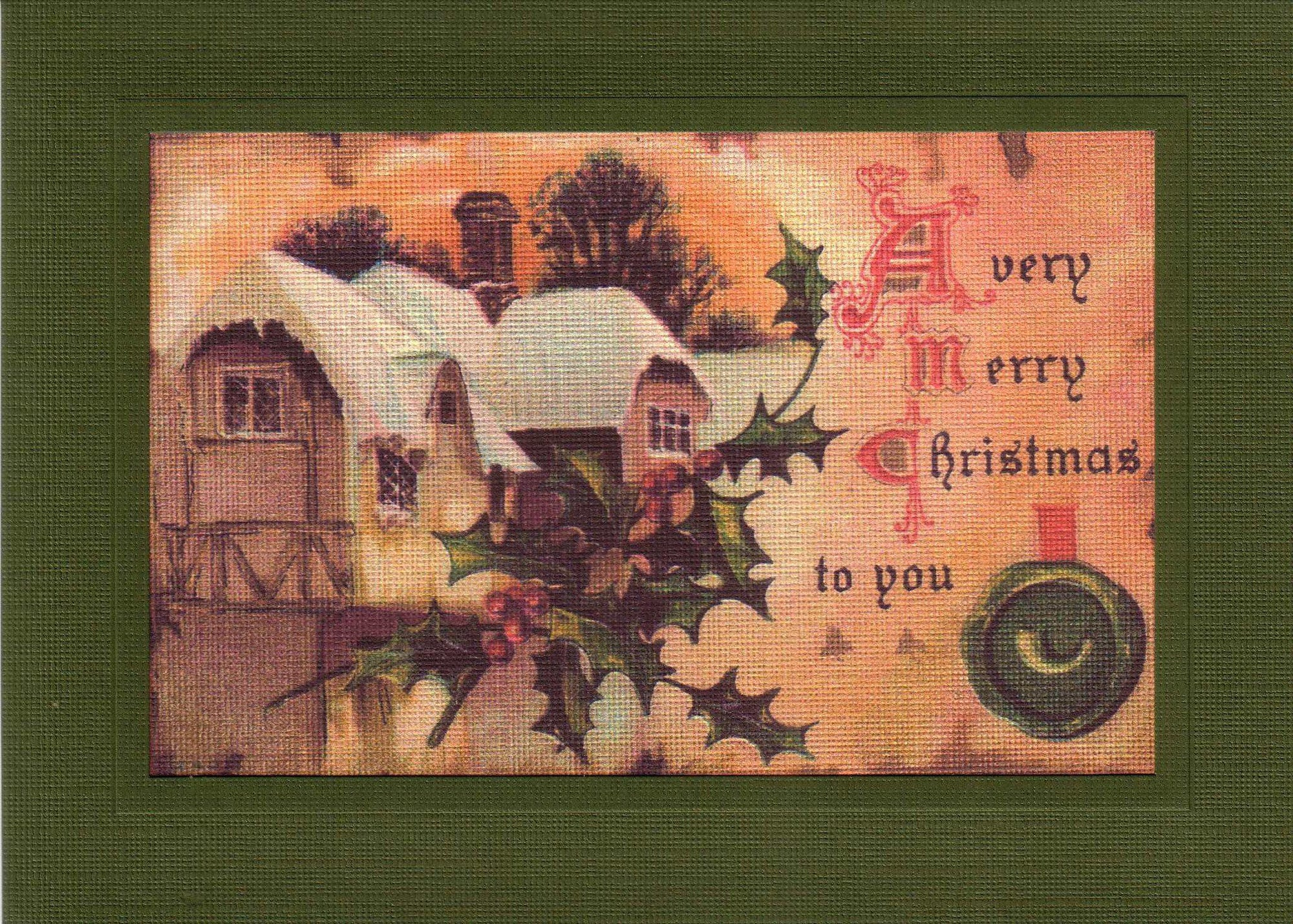 A Very Merry Christmas to You-Greetings from the Past-Plymouth Cards