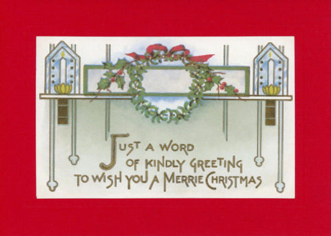 To Wish You a Merrie Christmas - PLYMOUTH CARD COMPANY