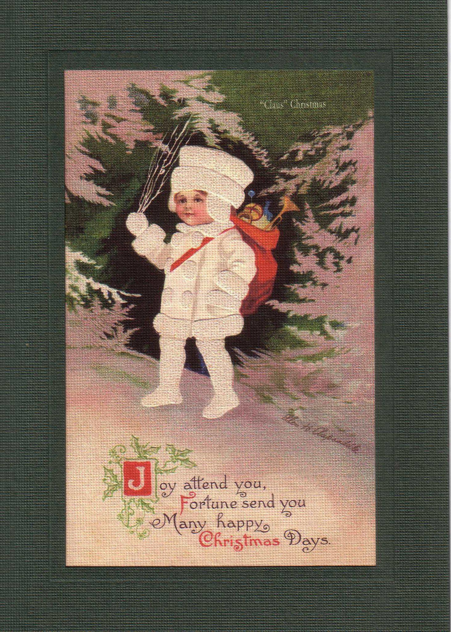 Joy & Fortune-Greetings from the Past-Plymouth Cards
