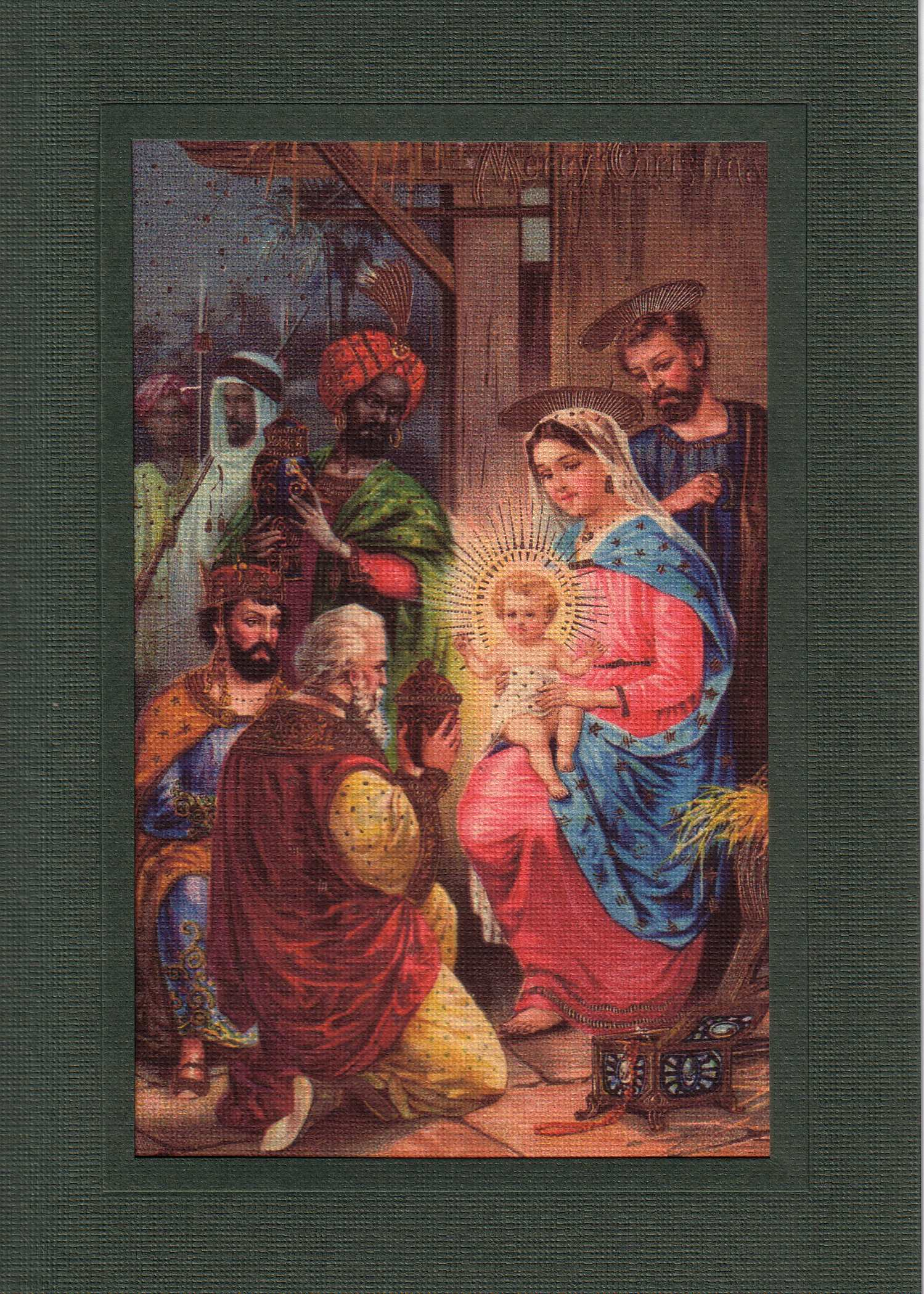 Nativity-Greetings from the Past-Plymouth Cards
