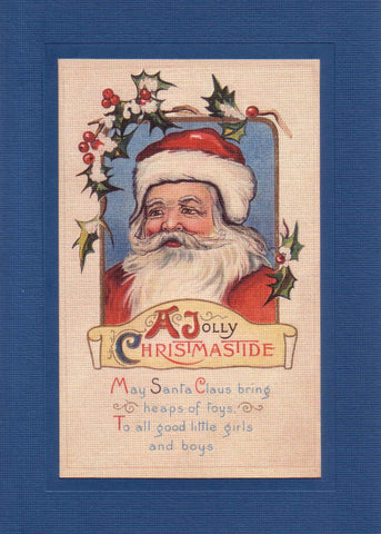 A Jolly Christmas Tide - PLYMOUTH CARD COMPANY  - 2