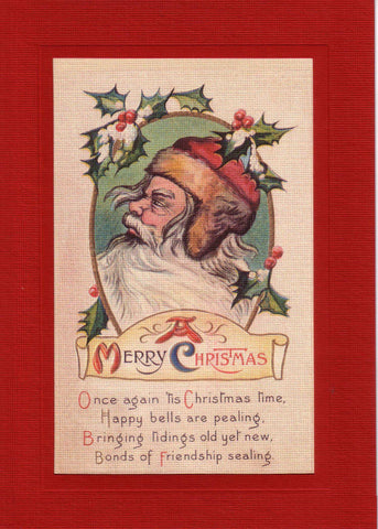 A Merrry Christmas - PLYMOUTH CARD COMPANY