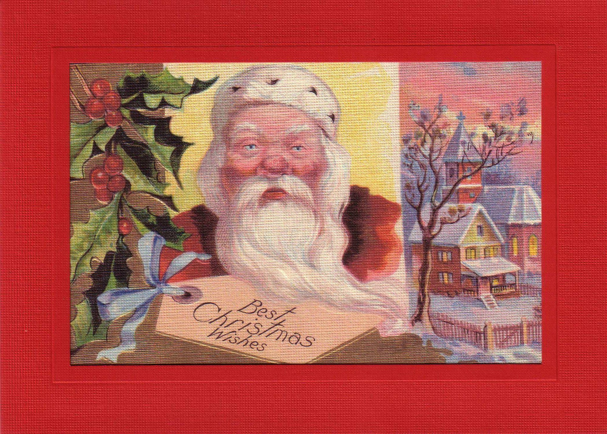 Best Christmas Wishes-Greetings from the Past-Plymouth Cards