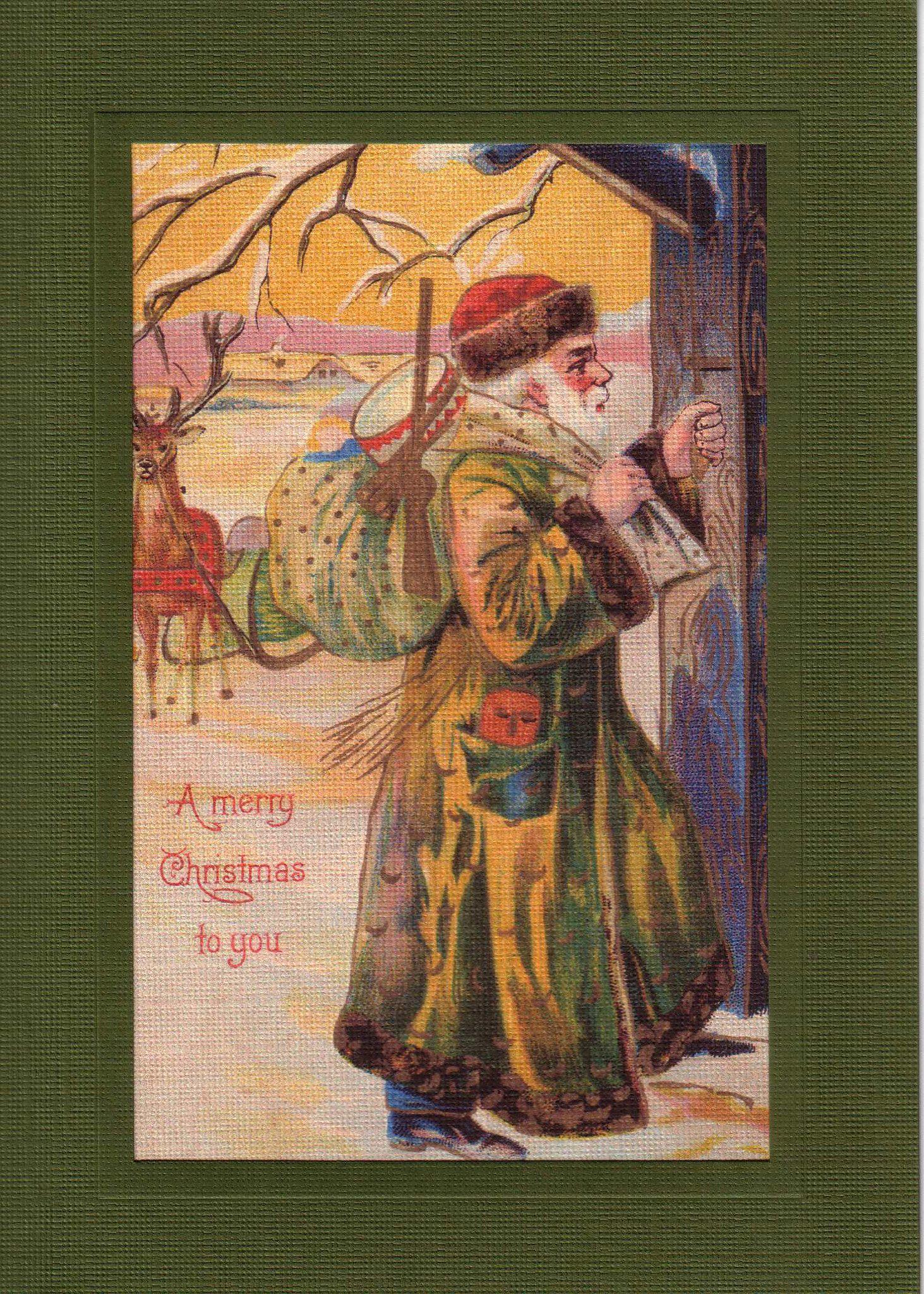 A Merry Christmas to You-Greetings from the Past-Plymouth Cards