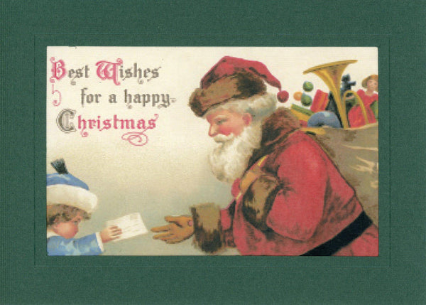 Best Wishes for a Happy Christmas - PLYMOUTH CARD COMPANY