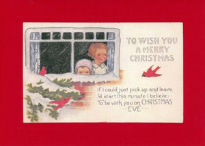 To Wish You a Merry Christmas - PLYMOUTH CARD COMPANY