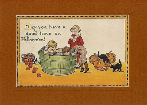 Good Time of Hallowe'en - PLYMOUTH CARD COMPANY