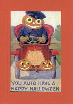 You Auto Halloween - PLYMOUTH CARD COMPANY
