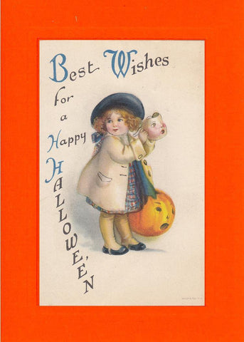 Best Wishes for a Happy Hallowe'en - PLYMOUTH CARD COMPANY  - 1