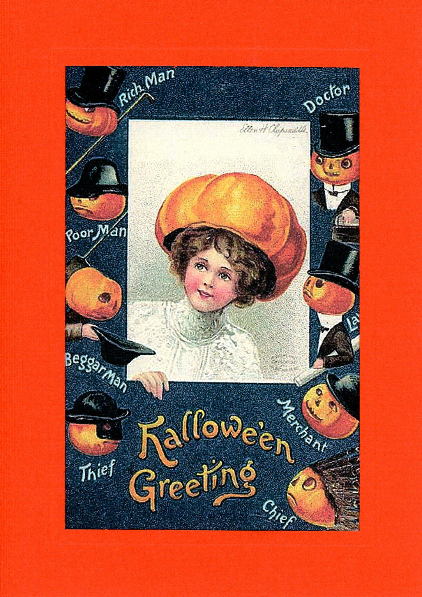 Hallowe'en Greeting-Greetings from the Past-Plymouth Cards