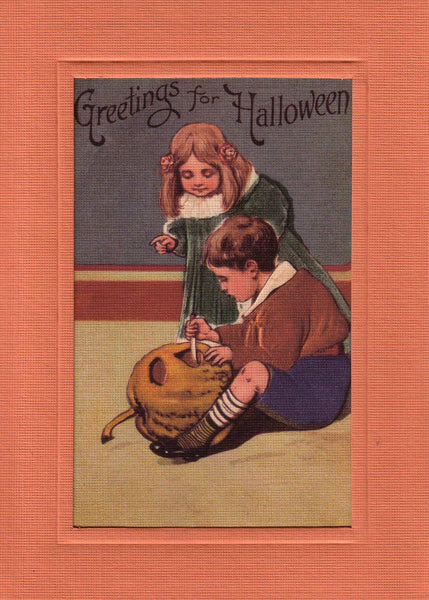 Greetings for Halloween - PLYMOUTH CARD COMPANY