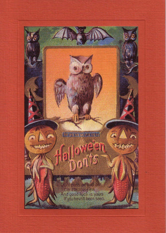 Halloween Don'ts - PLYMOUTH CARD COMPANY  - 2