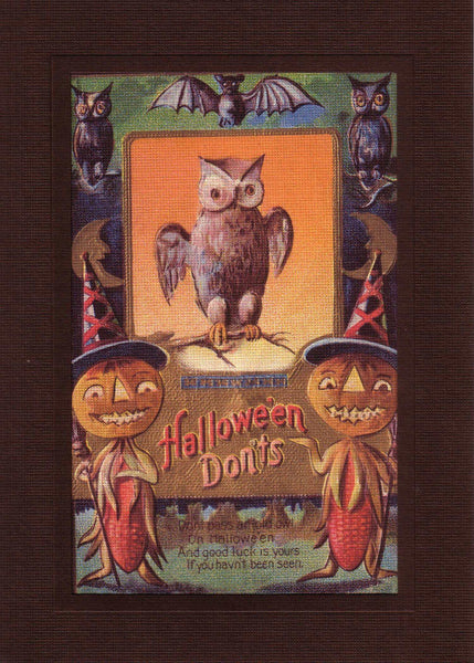 Halloween Don'ts - PLYMOUTH CARD COMPANY  - 1
