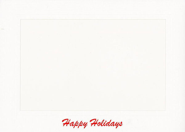 Happy Holidays Photo Note Cards - PLYMOUTH CARD COMPANY  - 17