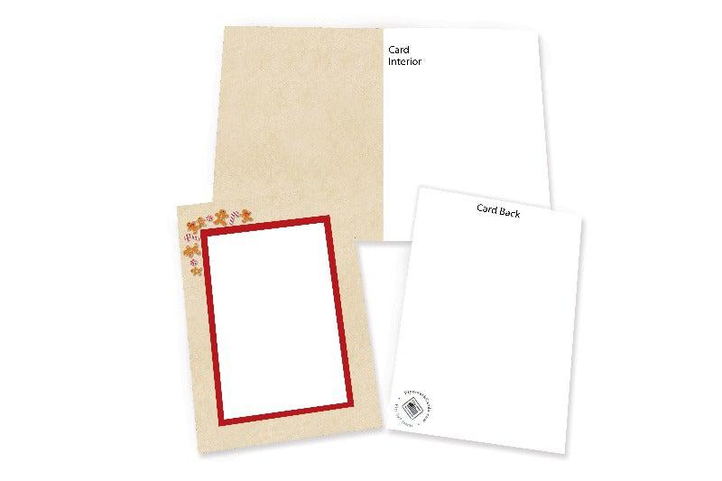 Gingerbread Men-Photo note cards-Plymouth Cards