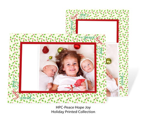 Peace Hope Joy-Photo note cards-Plymouth Cards