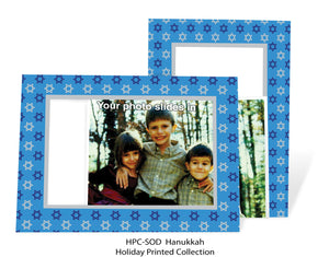 Star of David - blue background-Photo note cards-Plymouth Cards
