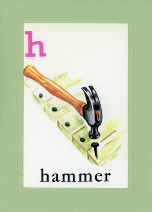 H is for Hammer - PLYMOUTH CARD COMPANY  - 1