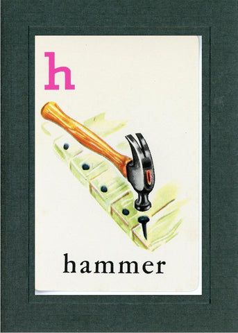 H is for Hammer - PLYMOUTH CARD COMPANY  - 2
