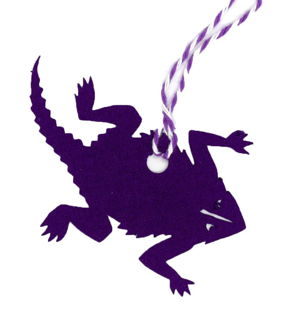 Horned Frog-Gift Tags-Plymouth Cards