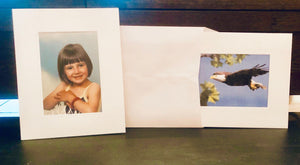 Snow - 5x7 Photo Insert Cards-Photo note cards-Plymouth Cards