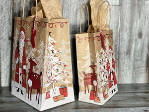 Gift Bag & Tag - Santa-Bags-Plymouth Cards