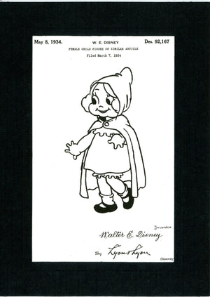 Little Red Riding Hood Patent