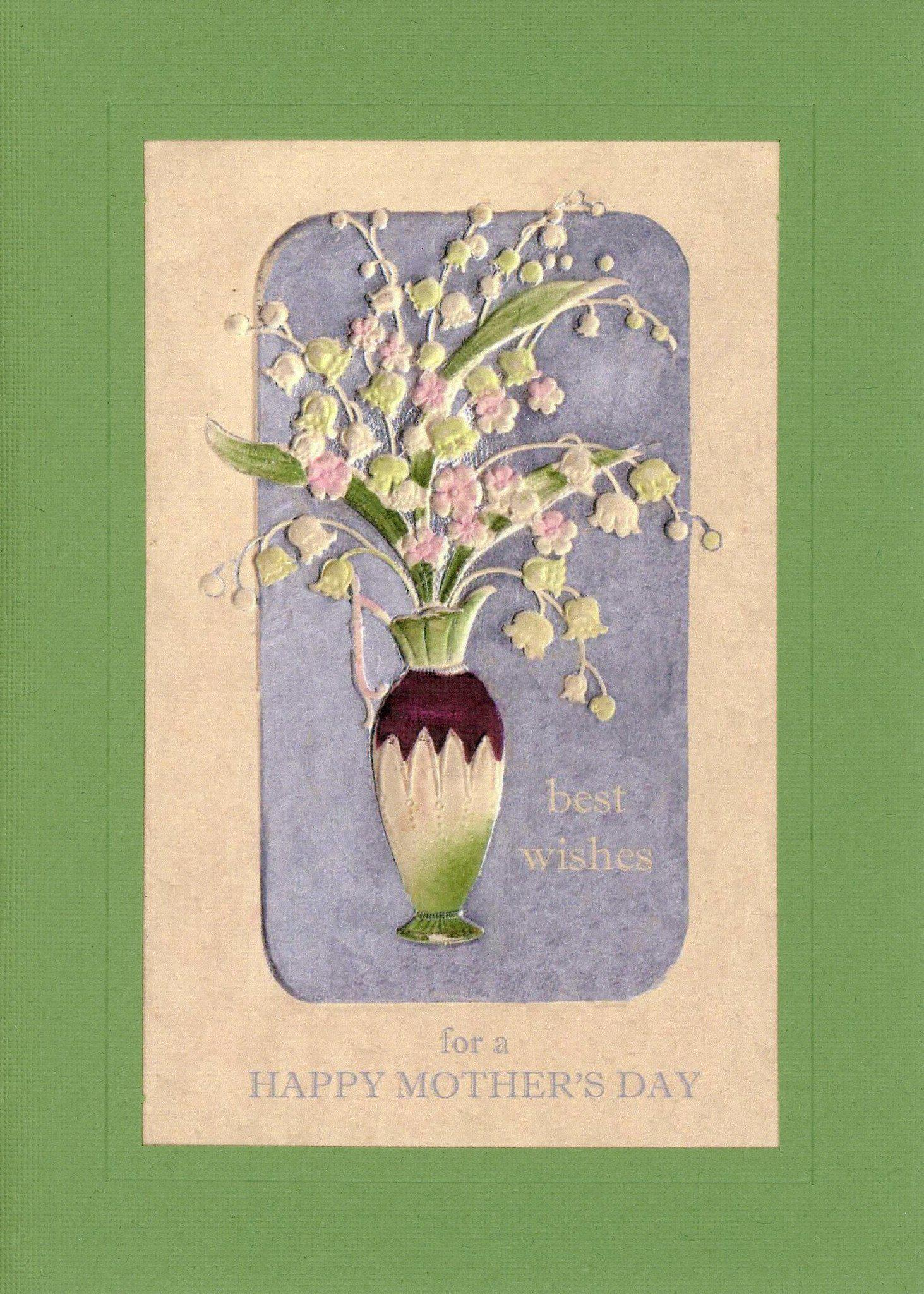 Best Wishes for Mother's Day-Greetings from the Past-Plymouth Cards