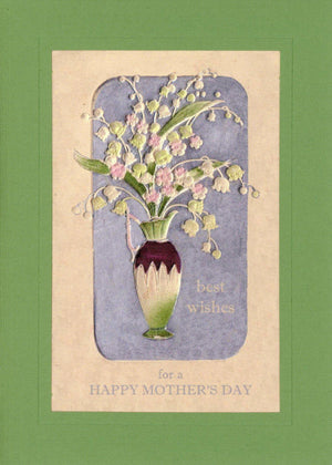 Best Wishes for Mother's Day - PLYMOUTH CARD COMPANY  - 1