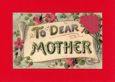 To Dear Mother Roses - PLYMOUTH CARD COMPANY  - 1