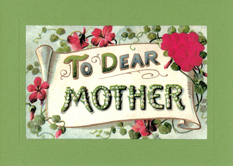To Dear Mother Roses - PLYMOUTH CARD COMPANY  - 3
