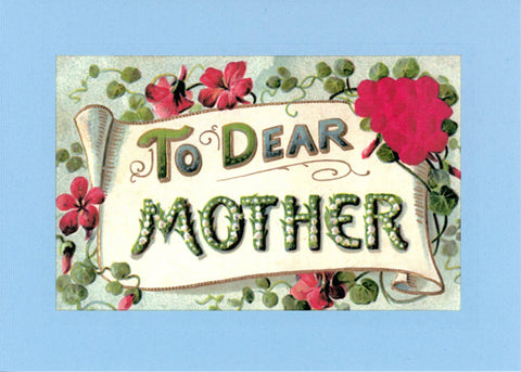 To Dear Mother Roses - PLYMOUTH CARD COMPANY  - 2
