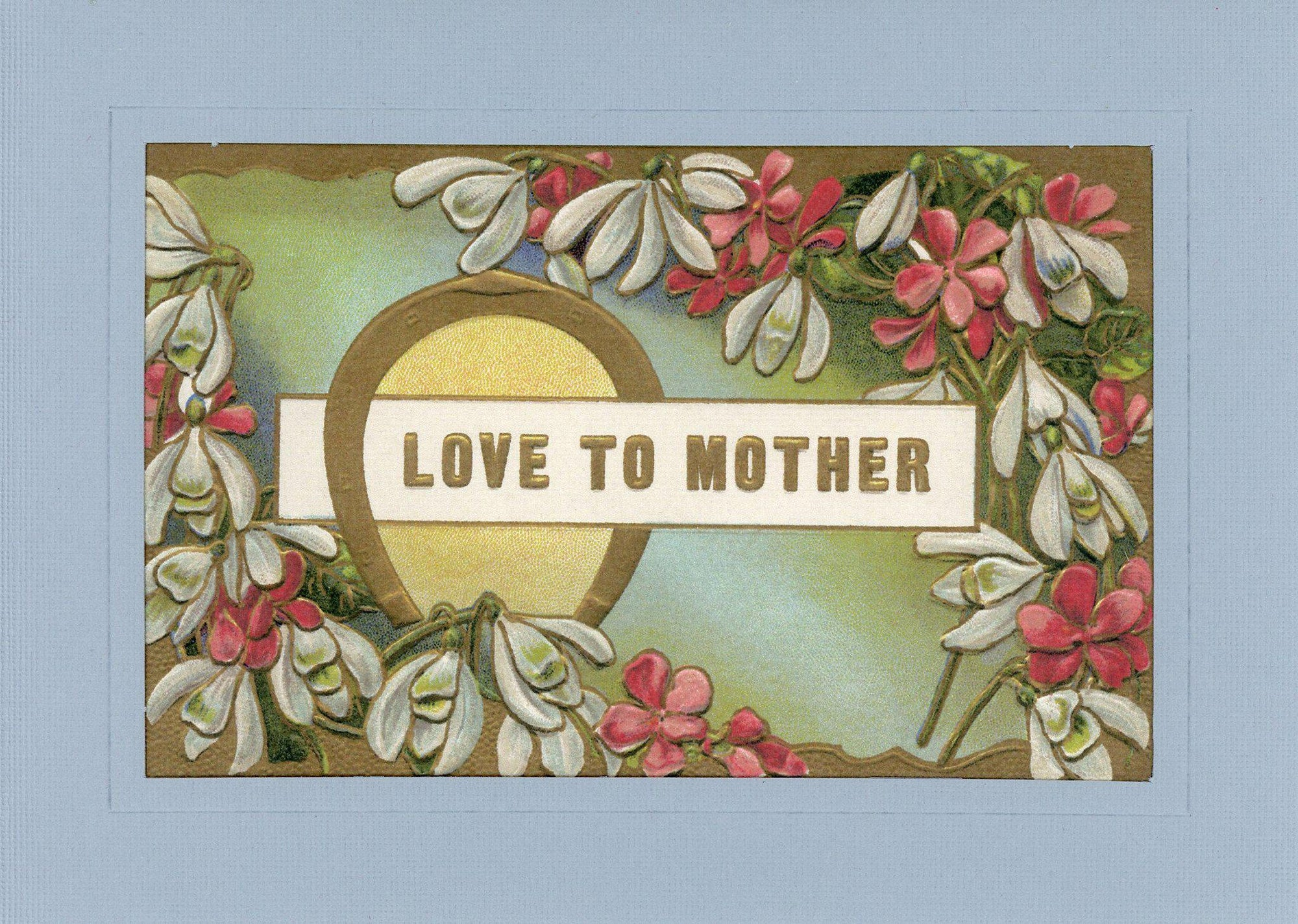 Love to Mother-Greetings from the Past-Plymouth Cards