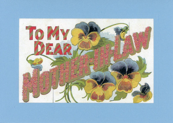 To Dear Mother-In-Law - PLYMOUTH CARD COMPANY