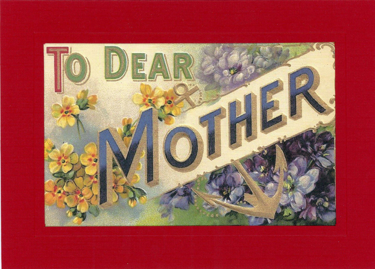 To Dear Mother - PLYMOUTH CARD COMPANY  - 2