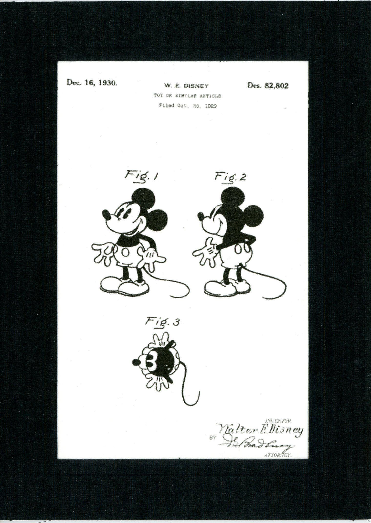 Mickey Mouse-Greeting Card-Plymouth Cards
