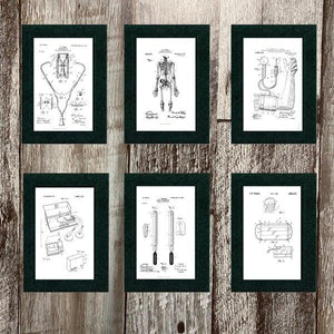Medical Patents 6 card set-Greeting Card-Plymouth Cards