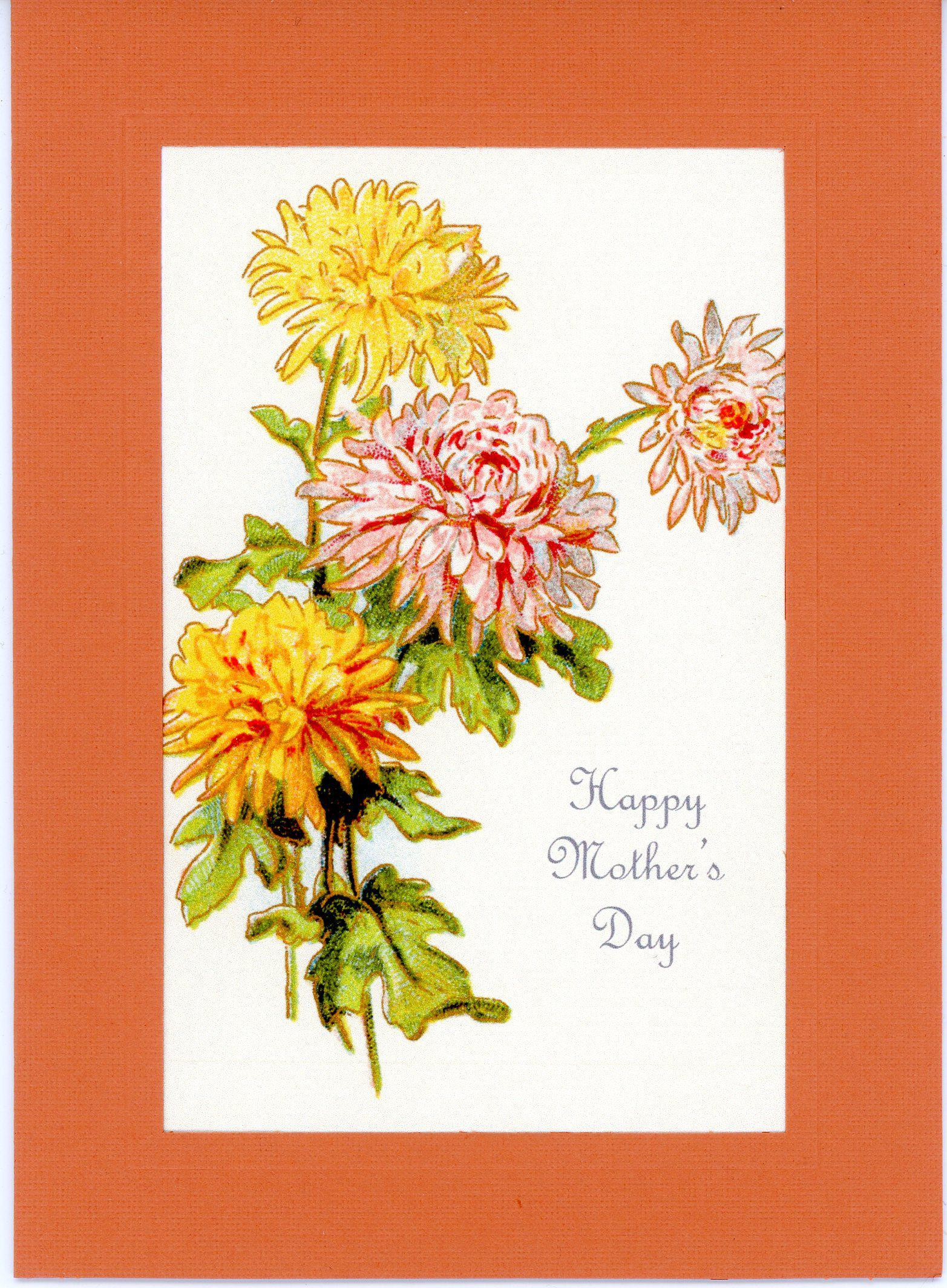 Happy Mother's Day-Greetings from the Past-Plymouth Cards