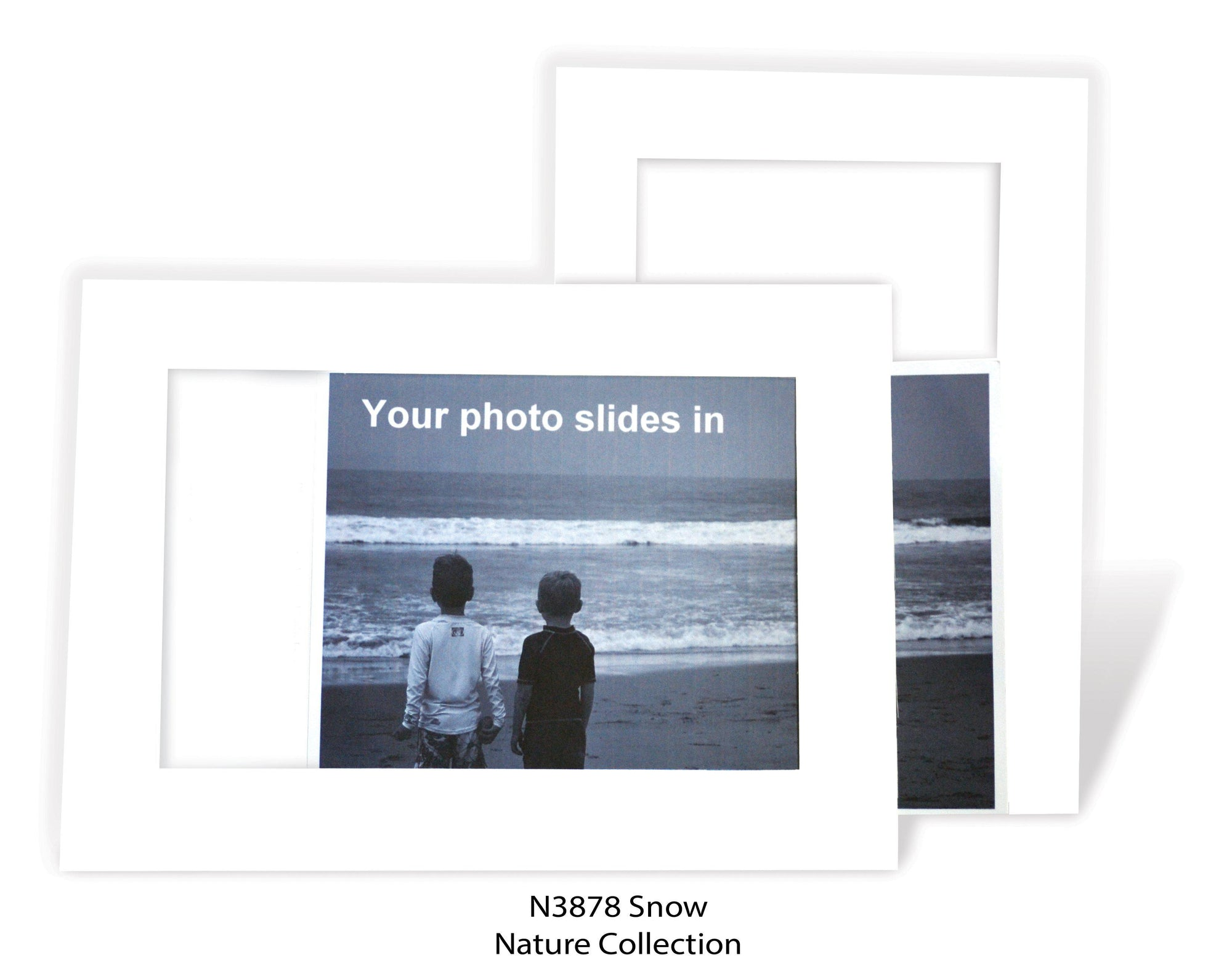 Snow #N3878-Photo note cards-Plymouth Cards