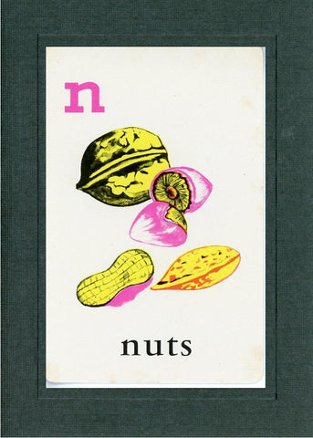 N is for Nuts - PLYMOUTH CARD COMPANY  - 2