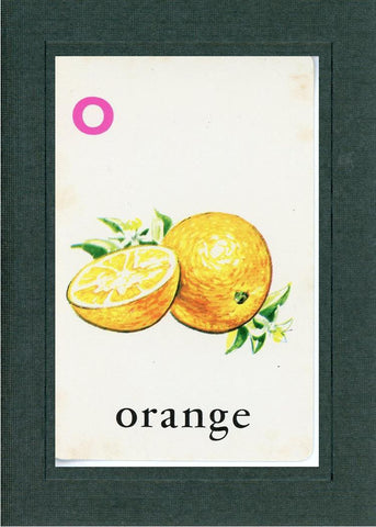 O is for Orange - PLYMOUTH CARD COMPANY  - 2