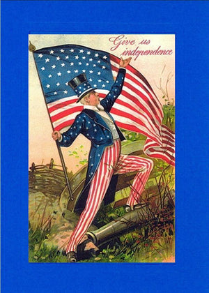 Give Us Independence-Greetings from the Past-Plymouth Cards