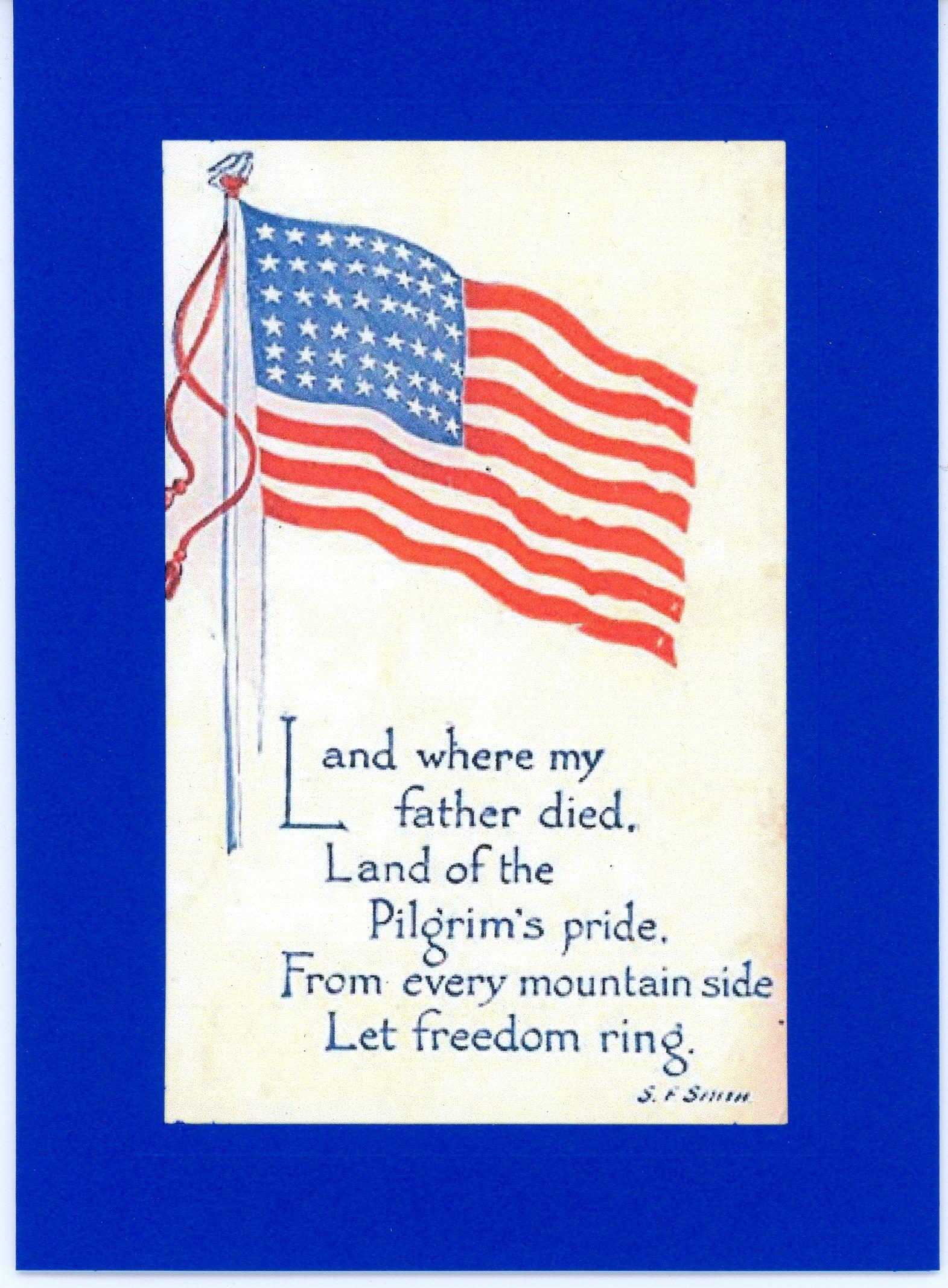 Let Freedom Ring-Greetings from the Past-Plymouth Cards